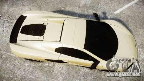 McLaren 650S Spider 2014 [EPM] Yokohama ADVAN v3 para GTA 4 visión correcta