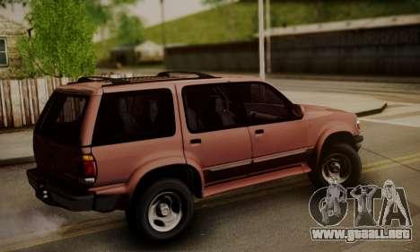 Ford Explorer 1996 para GTA San Andreas left