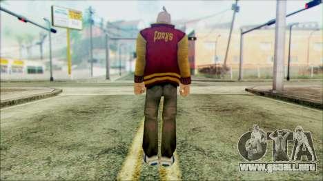 Manhunt Ped 17 para GTA San Andreas segunda pantalla