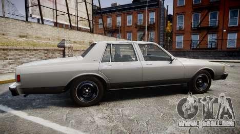 Chevrolet Impala 1985 para GTA 4 left