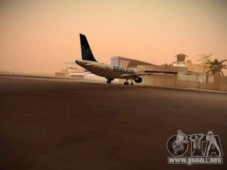 Airbus A320-211 Aigle Azur para la visión correcta GTA San Andreas