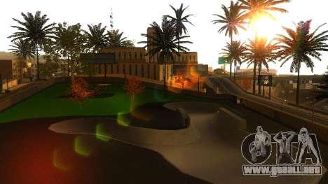 Texturas en HD skate Park y hospital V2 para GTA San Andreas undécima de pantalla
