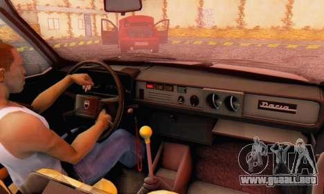 Dacia 1310 TX Stock v1 para GTA San Andreas vista hacia atrás