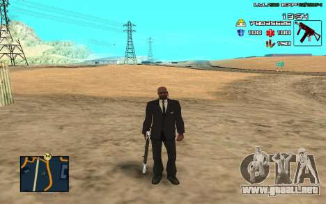 C-HUD by SampHack v.11 para GTA San Andreas