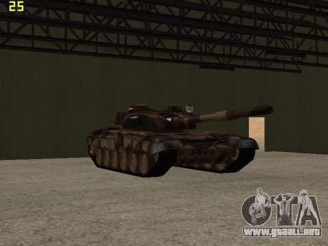 T-72 para visión interna GTA San Andreas