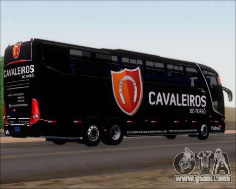 Marcopolo Paradiso G7 1600LD Scania K420 para la visión correcta GTA San Andreas