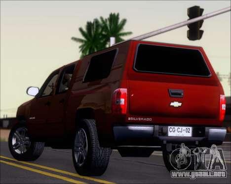 Chevrolet Silverado 2011 para el motor de GTA San Andreas