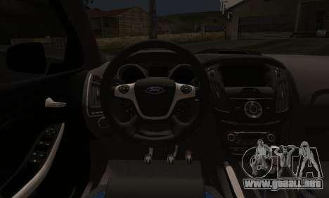 Ford Focus ST Eco Boost para la visión correcta GTA San Andreas