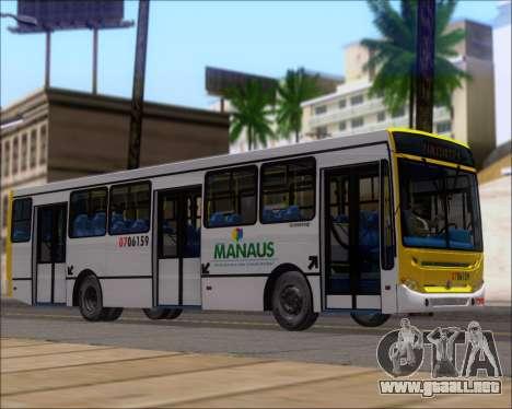 Caio Induscar Apache S21 Volksbus 17-210 Manaus para la visión correcta GTA San Andreas