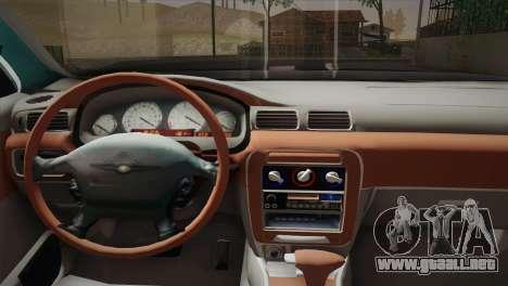 Chrysler 300M para GTA San Andreas vista posterior izquierda