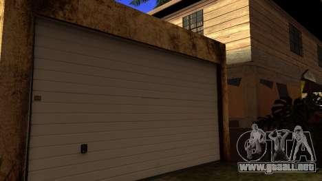 Nuevas texturas en HD casas en grove street v2 para GTA San Andreas tercera pantalla