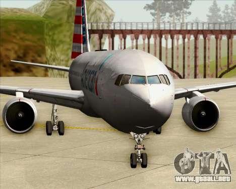 Boeing 767-323ER American Airlines para GTA San Andreas interior