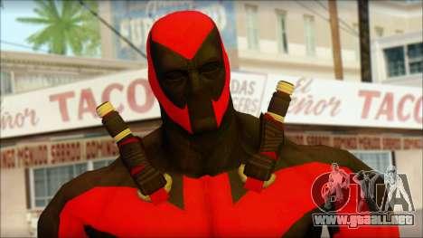 Ultimate Deadpool The Game Cable para GTA San Andreas tercera pantalla