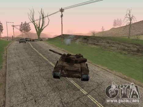 T-72 para la visión correcta GTA San Andreas