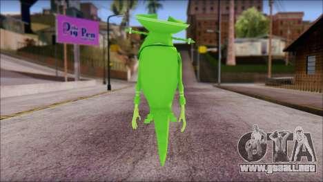 Dutchman from Sponge Bob para GTA San Andreas segunda pantalla