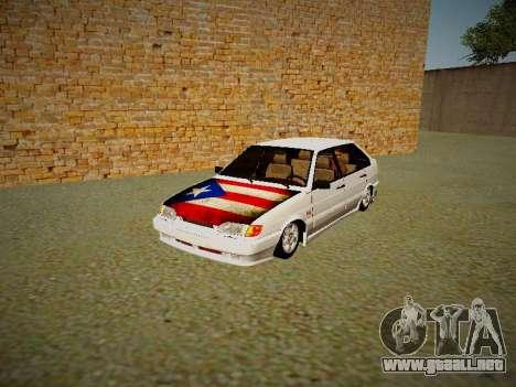 VAZ 2114 para GTA San Andreas left