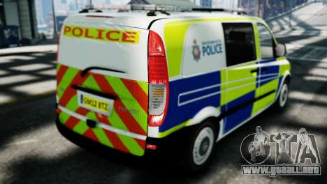Mercedes-Benz Vito para GTA 4 left
