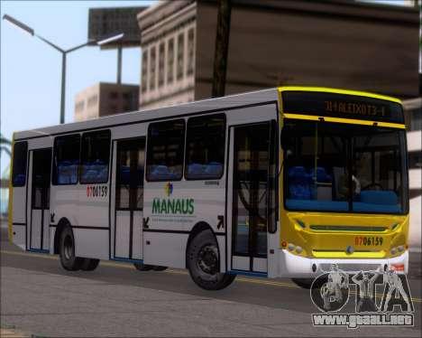 Caio Induscar Apache S21 Volksbus 17-210 Manaus para las ruedas de GTA San Andreas