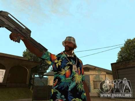 Pose gangster para GTA San Andreas tercera pantalla
