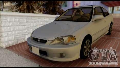 Honda Civic Si 1999 para GTA San Andreas