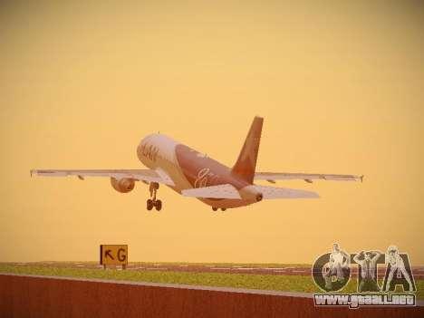 Airbus A320-214 LAN Airlines 80 Years para visión interna GTA San Andreas
