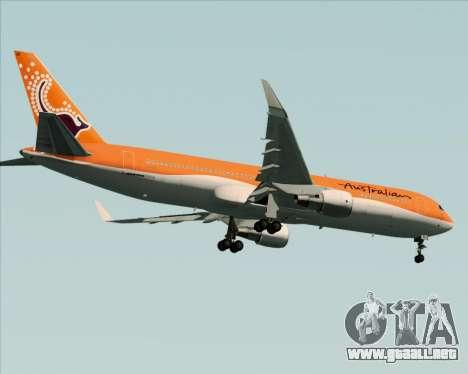 Boeing 767-300ER Australian Airlines para la visión correcta GTA San Andreas