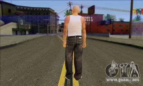 Vagos from GTA 5 Skin 2 para GTA San Andreas segunda pantalla