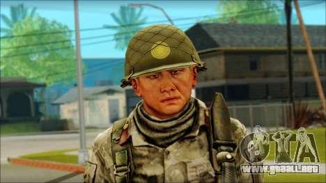 Corea del Norte soldado (Guerrero) para GTA San Andreas tercera pantalla