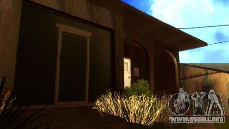 Nuevas texturas en HD casas en grove street v2 para GTA San Andreas sexta pantalla