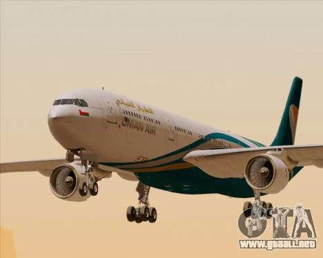 Airbus A330-300 Oman Air para GTA San Andreas