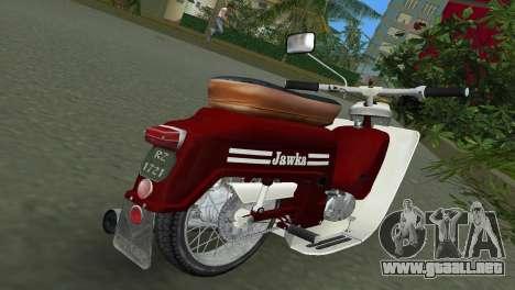 Jawa Type 20 Moped para GTA Vice City visión correcta