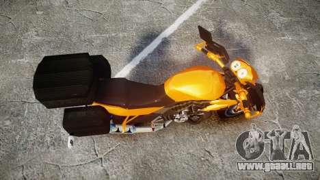 Yamaha V-ixion 150cc para GTA 4 visión correcta