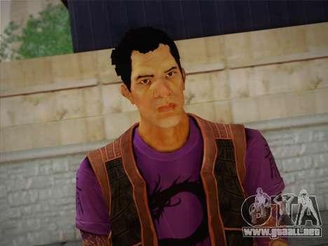 Slim Thug para GTA San Andreas tercera pantalla
