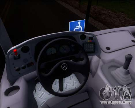 Marcopolo Torino G7 2007 Mercedes-Benz OF-1418 para vista lateral GTA San Andreas