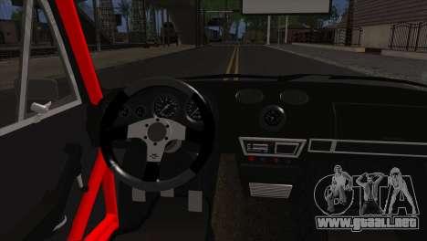 VAZ 2106 Deporte para GTA San Andreas vista posterior izquierda