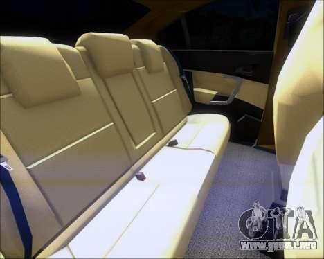 Opel Insignia OPC para GTA San Andreas interior