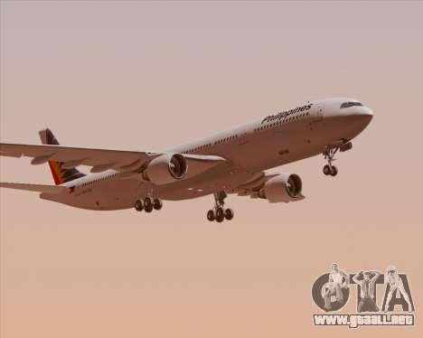 Airbus A330-300 Philippine Airlines para visión interna GTA San Andreas