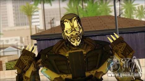 Bloqueo de seguridad para GTA San Andreas tercera pantalla
