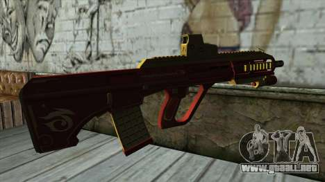 AUG A3 from PointBlank v1 para GTA San Andreas segunda pantalla