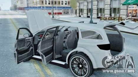GTA 5 Bravado Gresley para GTA 4 visión correcta
