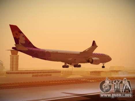 Airbus A330-200 Hawaiian Airlines para el motor de GTA San Andreas