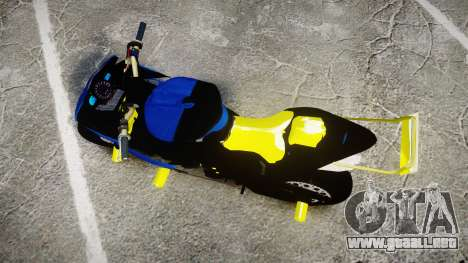 Yamaha R1 2007 Stunt para GTA 4 visión correcta