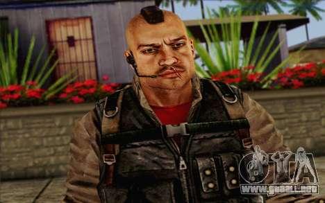 Los soldados de la Rogue Warrior 2 para GTA San Andreas tercera pantalla