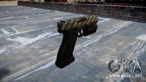 Pistola Glock 20 de fibra de carbono para GTA 4 segundos de pantalla