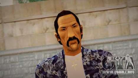 Vice City Style Ped para GTA San Andreas tercera pantalla