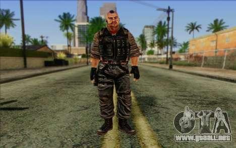 Los soldados de la Rogue Warrior 2 para GTA San Andreas