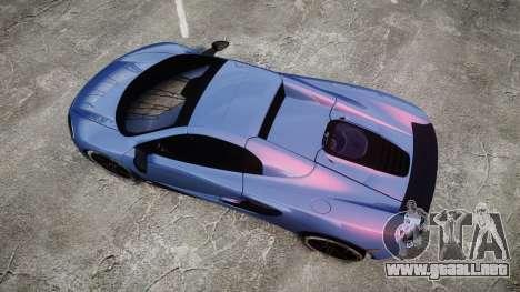 McLaren 650S Spider 2014 [EPM] Michelin v5 para GTA 4 visión correcta