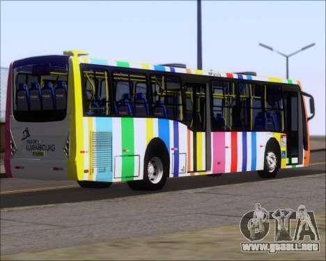 Caio Millennium II Volksbus 17-240 para GTA San Andreas vista posterior izquierda