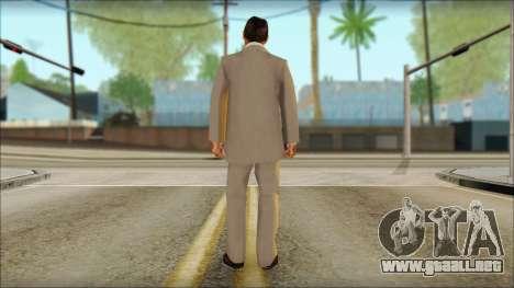 Michael from GTA 5v2 para GTA San Andreas segunda pantalla