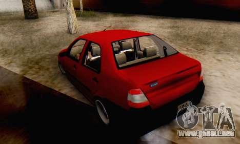 Fiat Siena 1998 para GTA San Andreas left